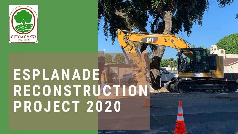 Esplanade Reconstruction Project 2020