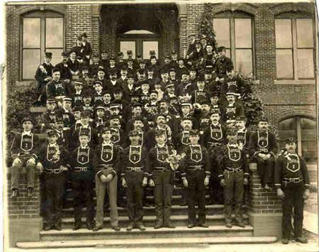 Historic photo of Chico Firefighters